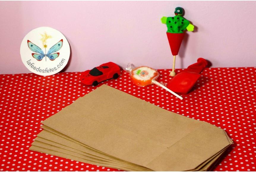 pochette surprise et cadeau en kraft pour anniversaire et f te. Black Bedroom Furniture Sets. Home Design Ideas