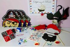 Boîte fête de pirates