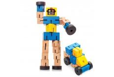 Robot transformer en bois