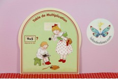 Disque table de multiplication