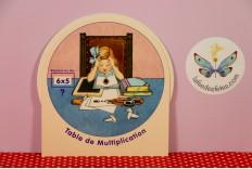 Disque table de multiplication