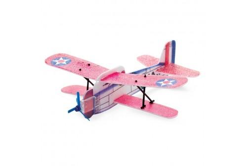 Avion polystyrène en kit