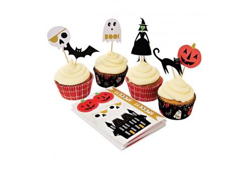 Kit cupcakes Halloween Meri Meri