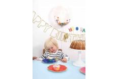 Guirlande de fête d'anniversaire