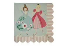 Serviettes en papier princesse Meri Meri