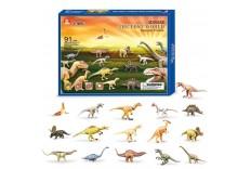 Dinosaures 3D à construire