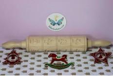Rouleau à biscuits de Noël