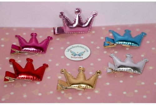 Barrette couronne de princesse