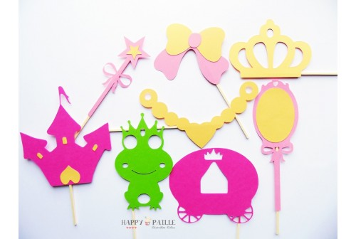 Kit photobooth Princesse