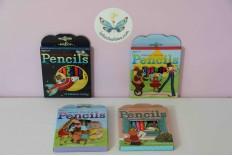 Mini pochette crayons de couleur Eeboo