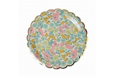 Assiette Liberty Poppy and Daisy Meri Meri