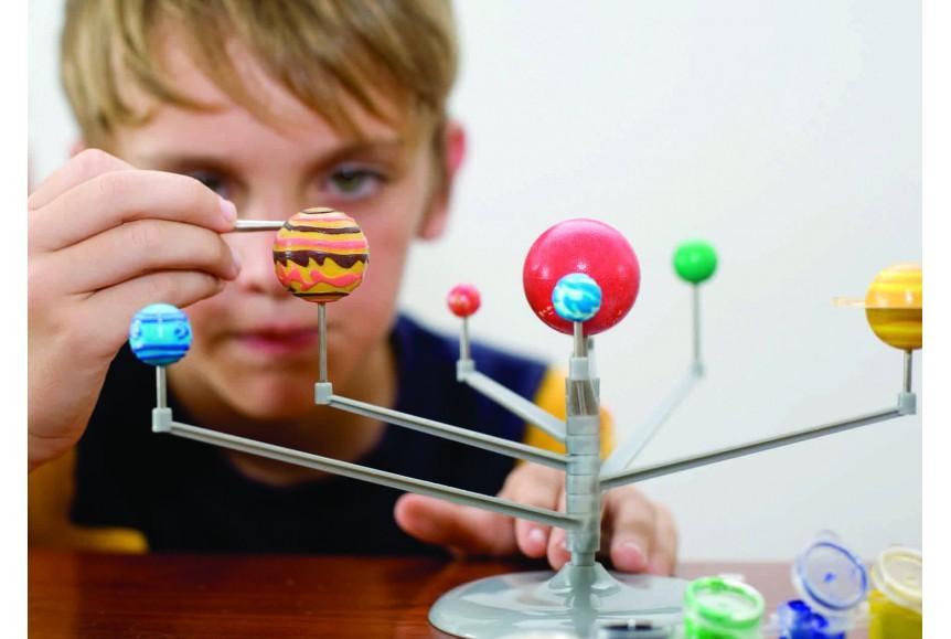 Kit de modélisme système Planète 4M : King Jouet, Jeux scientifiques 4M