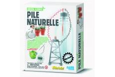 Kit pile naturelle 4M Kids Labs