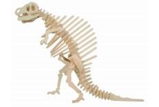 Maquette dinosaure en bois