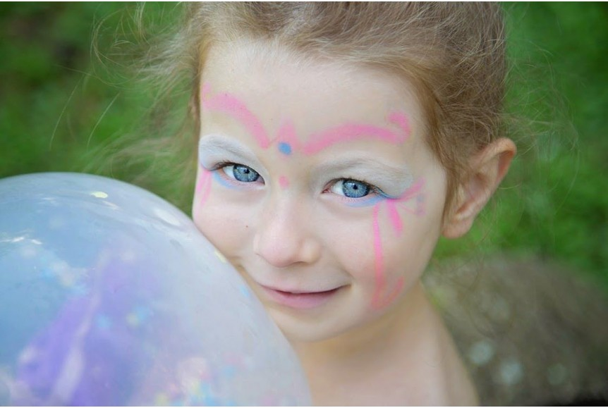 Kit de maquillage Princesse et papillon