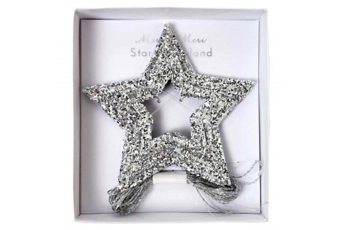 mini guirlande étoiles pailletées Meri Meri