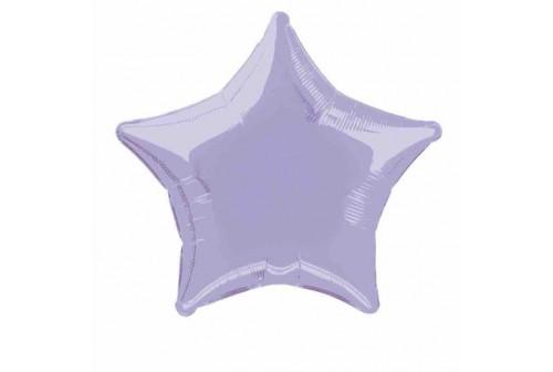 Ballon Mylar étoile mauve