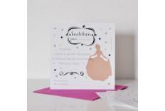 Carton invitation anniversaire princesse