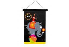 Jeu de fléchettes magnétiques thème Cirque Grand format