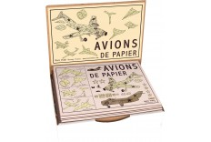 Kit avion de papier Marc Vidal