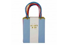 8 sacs de fête Happy Birthday