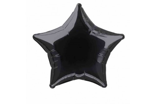 Ballon Mylar étoile noire