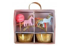 Set cupcake Licornes