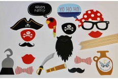 Kit photobooth pirate DIY