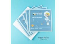 Invitation Espace - cosmonaute