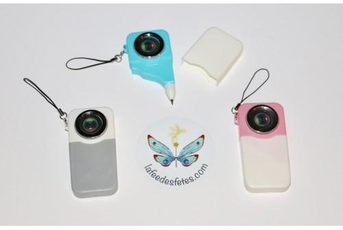 Stylo appareil photo