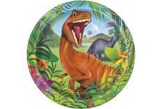 Assiettes Dinosaure