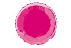 Ballon rond Mylar fuchsia