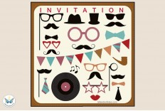 6 Invitations photobooth