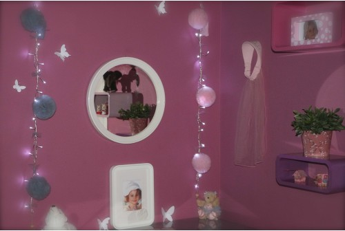 guirlande lumineuse veilleuse pour enfant. Black Bedroom Furniture Sets. Home Design Ideas