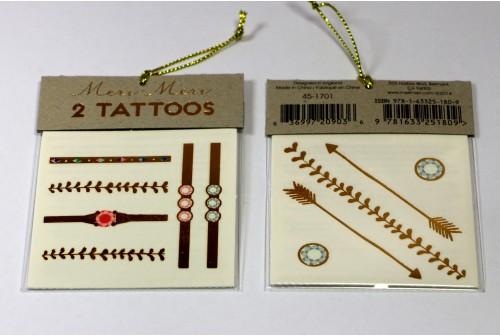 Tatouages bijoux Meri Meri