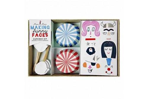 Kit à cupcakes créatifs Meri Meri