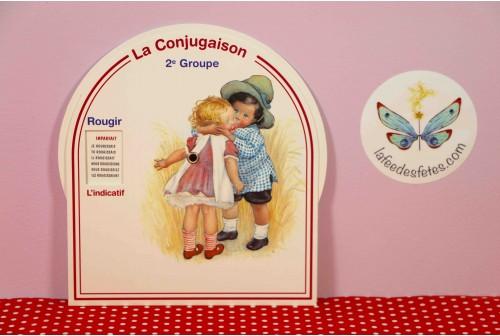 Disque de conjugaison 2e Groupe