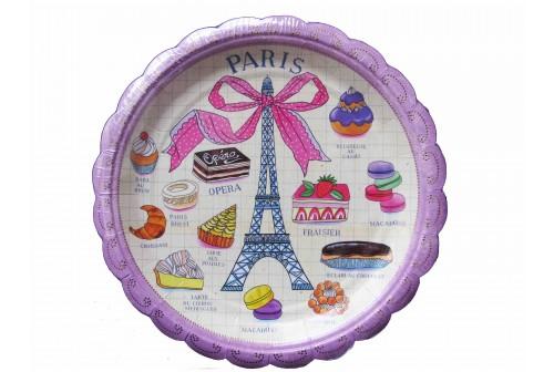 Assiette Paris Meri Meri