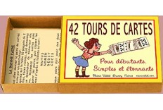 Boîte de 42 tours de cartes