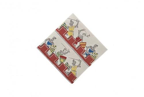 Petites serviettes en papier Brave Knigths Meri Meri