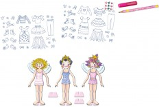 Coloriage et habillage Lillifee