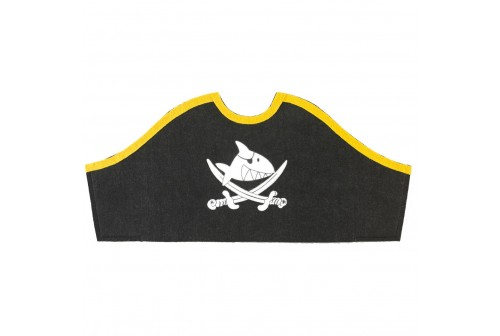 Chapeau de pirate capitaine sharky -Capt'n Sharky