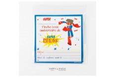 Invitation Super Héro