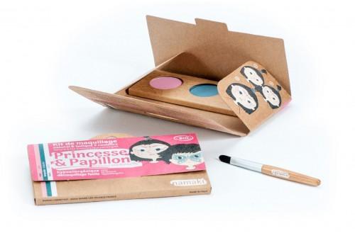 Kit de maquillage Princesse et papillon