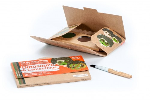Kit de maquillage Dinosaure & camouflage