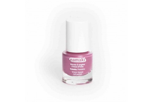 Vernis à ongles rose Bio namaki