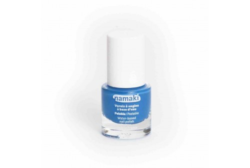 Vernis à ongles bleu Bio namaki