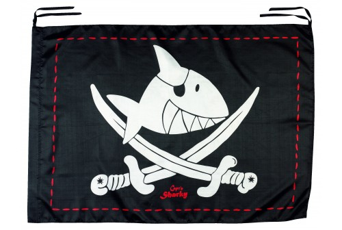 Drapeau de pirate Capitaine Sharky