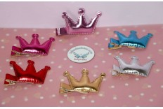 Barrette couronne de princesse