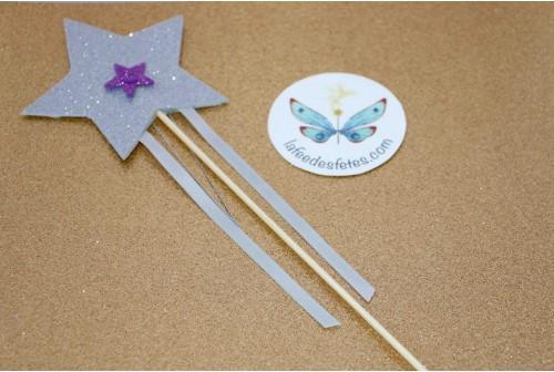 Atelier baguette magique gliter DIY